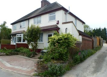 Thumbnail 3 bed semi-detached house for sale in Vicar Street, Worcester