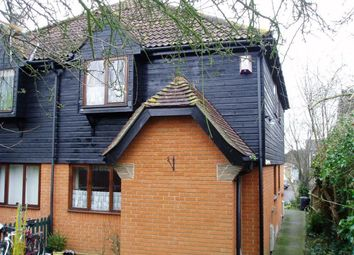 Thumbnail 1 bedroom end terrace house for sale in Cygnet Court, Wickford, Essex