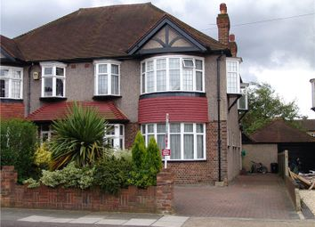 Thumbnail 4 bed semi-detached house to rent in Buxton Drive, New Malden