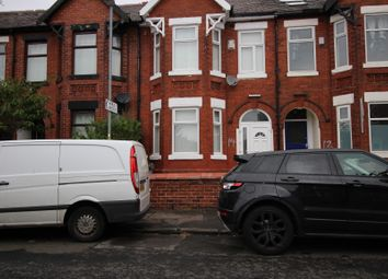Thumbnail 3 bedroom terraced house for sale in Belgrave Avenue, Victoria Park, Manchester