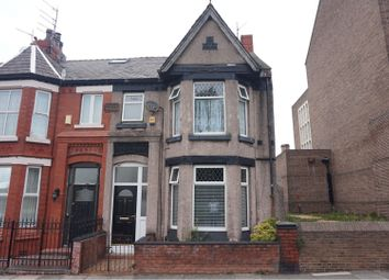 Thumbnail 4 bed end terrace house for sale in Earl Road, Bootle