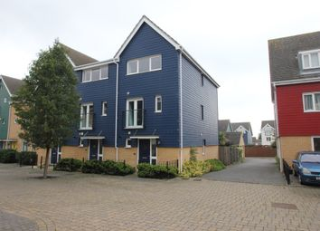 Thumbnail 4 bed end terrace house for sale in Athena Close, Southend-On-Sea