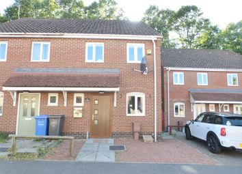Thumbnail 2 bed semi-detached house for sale in Roe Drive, Norwich