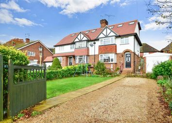 Thumbnail 3 bed semi-detached house for sale in Ashcombe Road, Dorking, Surrey