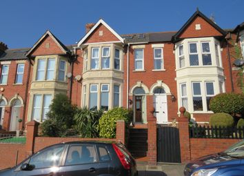 Thumbnail 4 bed terraced house for sale in Wenvoe Terrace, Barry