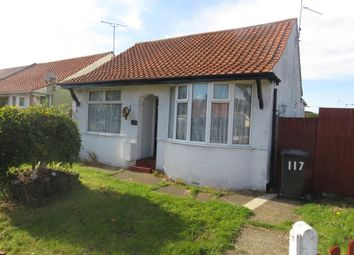 Thumbnail 2 bed bungalow to rent in Kirkley Run, Lowestoft
