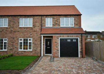 Thumbnail 4 bed semi-detached house for sale in Chapel Street, Hambleton, Selby