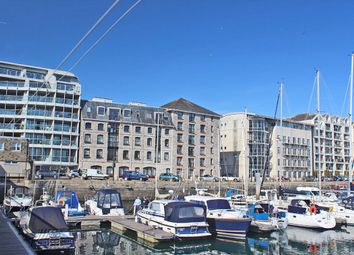 Thumbnail 2 bed flat for sale in Harbourside Court, Sutton Harbour, Plymouth