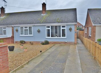Thumbnail 2 bed semi-detached bungalow for sale in Kemsley Road, Felixstowe