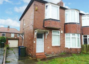 Thumbnail 3 bed flat for sale in Greywood Avenue, Newcastle Upon Tyne, Tyne And Wear