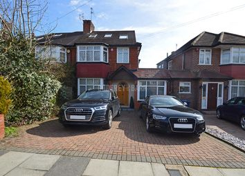 Thumbnail 4 bed semi-detached house for sale in Glenmere Avenue, London