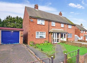 Thumbnail 3 bed semi-detached house for sale in Hughes Drive, Wainscott, Rochester, Kent