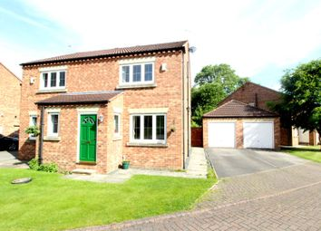 Thumbnail 2 bed semi-detached house for sale in St. Quintin Field, Nafferton, Driffield