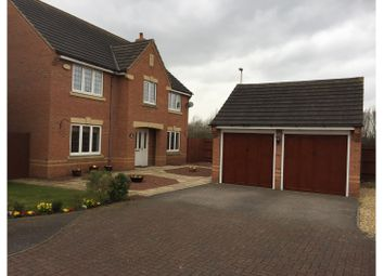 Thumbnail 4 bedroom detached house for sale in Croyland Drive, Bedford