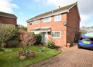 Thumbnail 3 bed semi-detached house for sale in Chudley Close, Exmouth, Devon