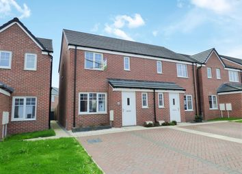 Thumbnail 3 bed semi-detached house for sale in Links Crescent, Seascale