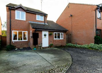 Thumbnail 3 bed detached house for sale in Webbs Close, North Walsham
