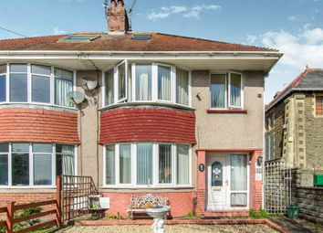 Thumbnail 4 bed semi-detached house for sale in St Albans Road, Brynmill, Swansea