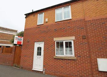Thumbnail 3 bedroom town house for sale in Strangman Street, Leek, Staffordshire