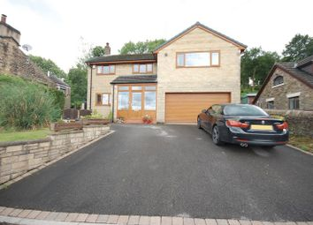 Thumbnail 4 bed detached house for sale in Marple Road, Chisworth, Glossop