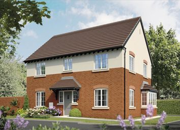 Thumbnail 4 bed detached house for sale in Bramshall Green, Bramshall, Uttoxeter