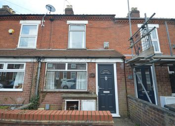Thumbnail 3 bed terraced house for sale in Churchill Road, Norwich, Norfolk