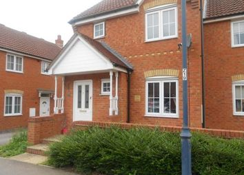 Thumbnail 3 bed semi-detached house for sale in The Glebe, Clapham, Bedford, Bedfordshire