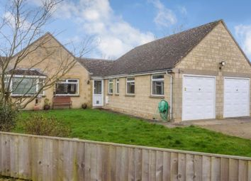 Thumbnail 4 bed detached bungalow for sale in The Leaze, Ashton Keynes, Swindon