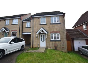 Thumbnail 3 bed link-detached house for sale in Thacker Way, Norwich