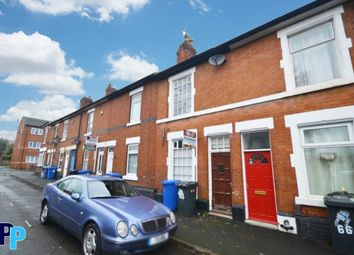 Thumbnail 3 bedroom terraced house to rent in Werburgh Street, Derby