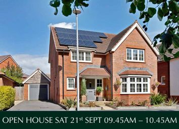 Thumbnail 4 bed detached house for sale in Brick Kiln Close, Exeter