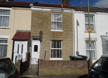 Thumbnail 2 bed terraced house to rent in Carnarvon Road, Gosport