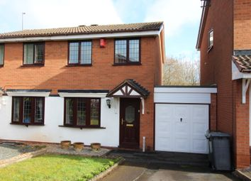 Thumbnail 2 bedroom semi-detached house for sale in Willingworth Close, Bilston