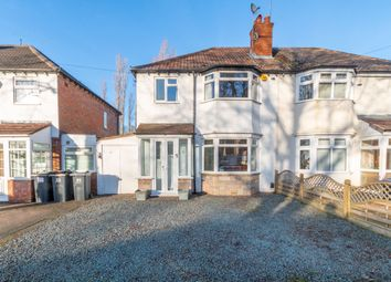 Thumbnail 3 bed semi-detached house for sale in Scribers Lane, Hall Green, Birmingham