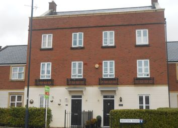 Thumbnail 4 bed town house to rent in Britten Road, Swindon