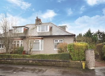 Thumbnail 3 bed semi-detached bungalow for sale in Netherpark Avenue, Netherlee, Glasgow