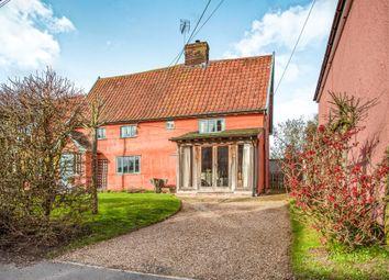 Thumbnail 2 bed semi-detached house for sale in Saxmundham Road, Framlingham, Woodbridge