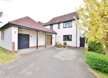 Thumbnail 4 bed detached house for sale in Crossbow Court, Ongar, Essex