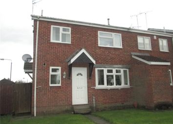 Thumbnail 2 bed semi-detached house to rent in Gateford Gardens, Worksop, Nottinghamshire