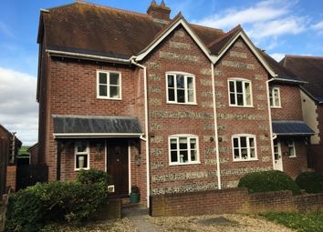 Thumbnail 3 bed semi-detached house for sale in Coles Lane, Milborne St. Andrew, Blandford Forum