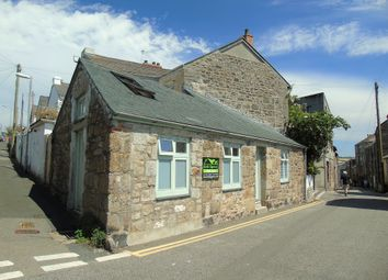 Thumbnail 1 bed semi-detached bungalow for sale in Bread Street, Penzance, Cornwall.