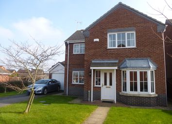 Thumbnail 4 bed property to rent in Lindbergh Close, Worksop
