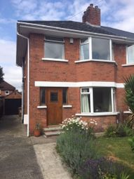 Thumbnail 3 bed semi-detached house to rent in Mount Merrion Park, Belfast