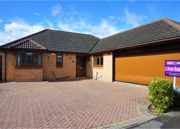 Thumbnail 3 bed detached bungalow for sale in Wingate Way, Bourne