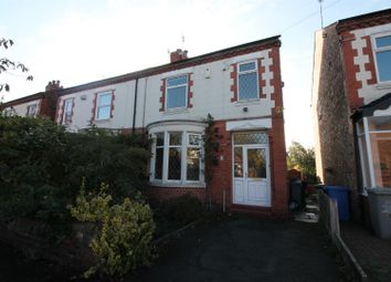 Thumbnail 3 bed semi-detached house to rent in Windsor Avenue, Urmston, Manchester