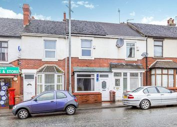 Thumbnail 2 bed terraced house for sale in London Road, Trent Vale, Stoke-On-Trent