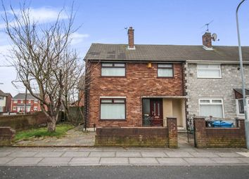 Thumbnail 3 bed semi-detached house to rent in Normandy Road, Huyton, Liverpool