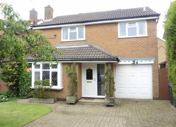 Thumbnail 4 bed detached house to rent in Cornwall Way, Hinckley