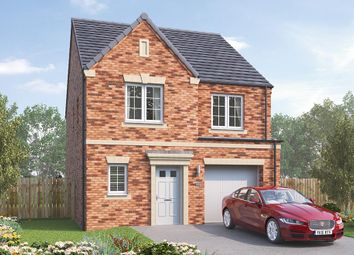 "Thumbnail 4 bed detached house for sale in ""The Ashbury"" at Burton Street, Market Harborough"