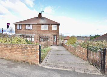 Thumbnail 3 bed semi-detached house for sale in Skinner Street, Creswell, Worksop
